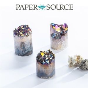 Paper Source Rainbow Aura Crystal Cupcake